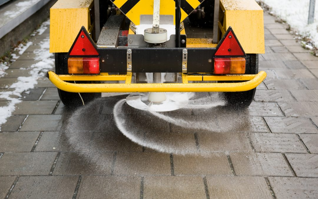 Salt: It Clears up Snow and Creates Equipment Problems